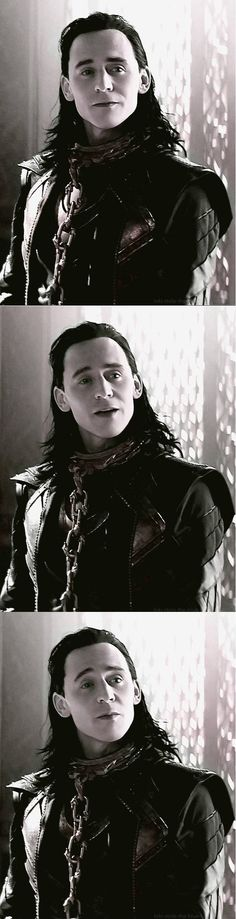 "Tom Hiddleston ""Loki"" Stills from ""The Dark World"" From http://loki-stole-the-blue-box.tumblr.com/post/78169616120/hello-mother-have-i-made-you-proud"