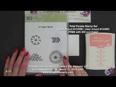 ▶ Was not a fan of the Stampin' Up Petal Parade Stamp Set - YouTube