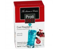 ProtiDiet Fruit Drink Liquid Protein Concentrates from Pro-Amino - Cool Raspberry