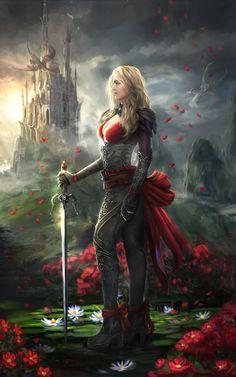 Fantasy Female Warrior, Fantasy Women, Female Art, Sacred Feminine, Divine Feminine, Character Inspiration, Character Art, Warrior Tank, Half Skull