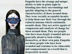 The Hidden Empath Empath Traits, Intuitive Empath, Highly Sensitive Person, Sensitive People, Infj Infp, Introvert, Spiritual Healer, Spirituality, Empath Abilities