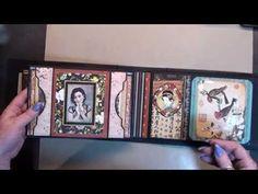 Mini Album Tutorial #8 Grahic 45 Bird Song ( mirabelle style ) - YouTube