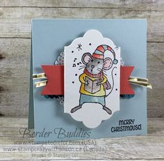 Just in Case Series Merry Mice Stamp Set by Stampin' Up! www.stampstodiefor.com