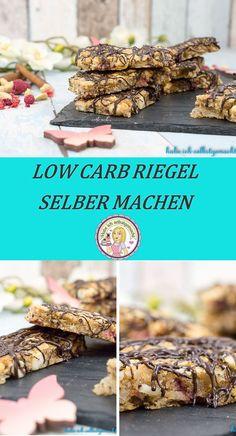 Selbstgemachte Low Crab Riegel, Proteinriegel, glutenfrei, laktosefrei, Rezept, Protein Bars, Low Carb Bars