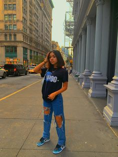 Baddie Outfits Casual, Cute Swag Outfits, Indie Outfits, Teen Fashion Outfits, Retro Outfits, Stylish Outfits, Tomboy Fashion, Streetwear Fashion, Mode Kylie Jenner