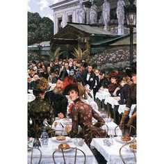 Buyenlarge 'The Women of The Artist' by James Tissot Print of painting Size: