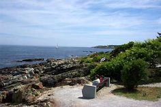 Marginal Way in Ogunquit, Maine.  I've spent many hours of my life walking this footpath.