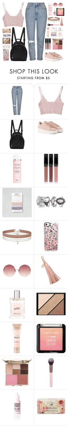 """""""Please don't say that you know, when you know I can't take it."""" by povring ❤ liked on Polyvore featuring Topshop, StyleNanda, STELLA McCARTNEY, Christian Dior, American Eagle Outfitters, Miss Selfridge, Casetify, Linda Farrow, Meli Melo and philosophy"""