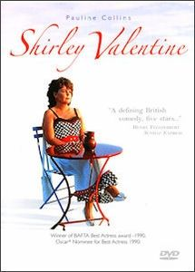 Shirley Valentine 1989 Can't believe how long its been since I have seen this.I think when Whit was born, gotta see if its on Netflix. Top Movies, Movies And Tv Shows, Pauline Collins, Shirley Valentine, Box Sets, Throw A Party, Great Films, Music Tv, Movies