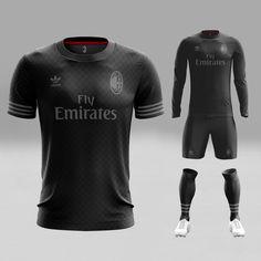Concept Kits — Xztals In the last 30 years, the evolution of fashion has been Custom Football, Football Design, Team Wear, Sport Wear, Sports Shirts, Football Shirts, See Through Prom Dress, Sport Shirt Design, Premier League Goals