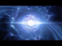 Doomed Neutron Stars Create Blast of Light and Gravitational Waves - YouTube