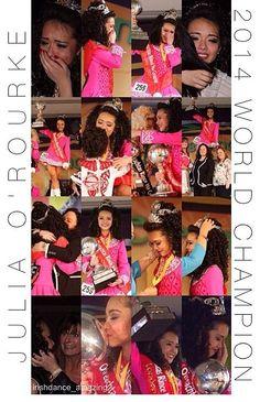Julia won again!!! Woo-hoo I love her!