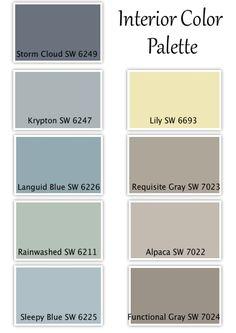 BAM! I found our color pallet! Haha! :D Client Home Design Update - Farm Fresh Vintage Finds