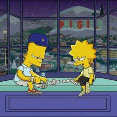 """""""The Simpsons"""" Illustrated as Sneakerheads by Olga Wójcik Homer Simpson, Bart And Lisa Simpson, The Simpsons, Bart E Lisa, Simpsons Springfield, Sneaker Art, Illustration, Cartoon Memes, Cartoons"""