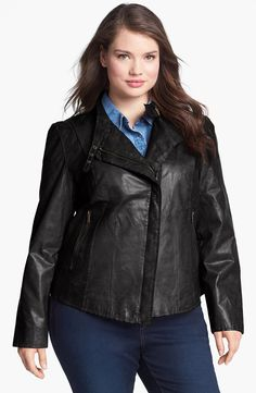 f96f3f60b70  reallycute plus size womens leather jackets 06077528 Leather Coats