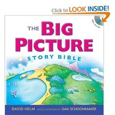 One of our favorite Bibles for preschool-school age kids