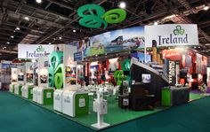 Award winning exhibition stand design for Tourism Ireland, from GENESIS EXHIBITION DESIGN at WTM 2011/London