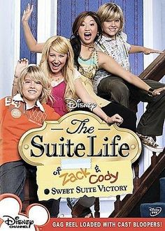 In this popular Disney sitcom, 11-year-old identical twins Zack and Cody (Dylan and Cole Sprouse) are sure they've gone to heaven: their mother (Kim Rhoades) has landed a job as a singer at the Tipton