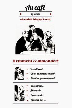 El Conde. fr: Comment commander au café? | PASSION FLE | Scoop.it