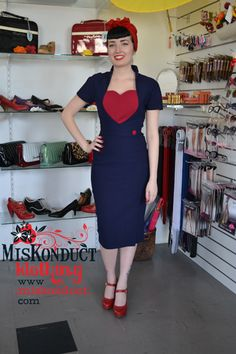 Our fashion pieces at Miskonduct are inspired by clothing, making it the perfect place for Australian girls who love vintage fashion. Retro Outfits, Veronica, Pin Up, Vintage Fashion, Bodycon Dress, Boutique, Navy, My Style, Womens Fashion