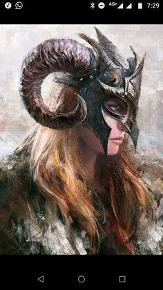 f Barbarian portrait Women of Fantasy 3d Fantasy, Fantasy Warrior, Medieval Fantasy, Fantasy Artwork, Medieval Girl, Fantasy Queen, Character Portraits, Character Art, Character Design