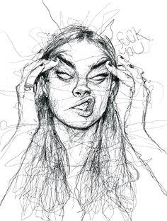 Verärgerte Frauenkunst Angry Woman Art Angry Woman Art The post Angry Woman Art appeared first on Br Pencil Art Drawings, Art Drawings Sketches, Sketch Art, Drawing Art, Drawing Faces, Contour Drawings, Charcoal Drawings, Horse Drawings, Drawing Tips