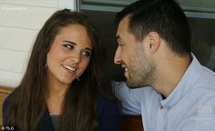 On the porch: Jinger and Jeremy talked about taking it to the next level on her…