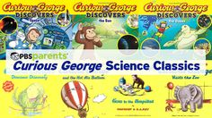 Bring out the inner scientist in your child with this collection of timeless Curious George books.