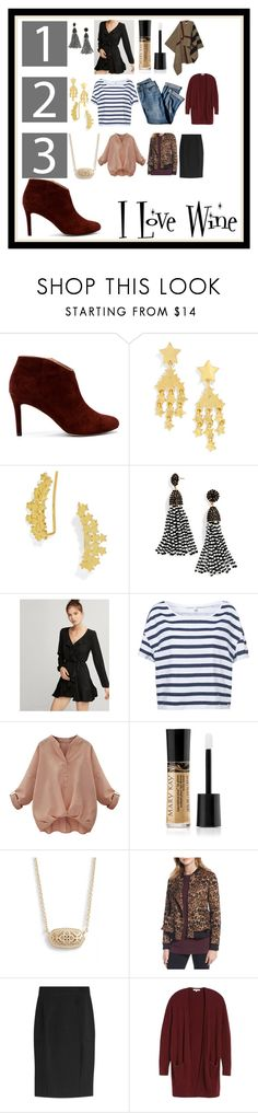 """Untitled #1002"" by ma-nouvelle-vie-en-rose ❤ liked on Polyvore featuring Sole Society, BaubleBar, Express, J.Jill, Mary Kay, Kendra Scott, Trouvé, Burberry and Madewell"