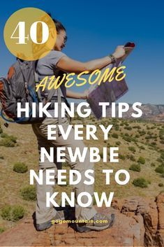 To help you out as you get started, we've put together a list of the very best hiking tips for beginners. These hiking tips are inspired by advice from seasoned hikers, personal experience, and even questions asked by readers. Backpacking For Beginners, Backpacking Tips, Hiking Tips, Hiking Gear, Hiking Backpack, Backpacking Checklist, Hiking Europe, Travel Backpack, Travel Bags