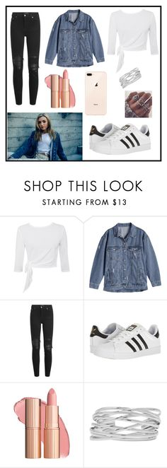 """""""#peytonList#jessie#actress#model#famousPeopleStyleChallenge#vanesa#adidas#superstar"""" by whitney555 ❤ liked on Polyvore featuring AMIRI, adidas and M&Co"""
