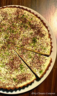 Cheesecakes, Quiche, Deserts, Food And Drink, Breakfast, Smoothie, Food Cakes, Cream, Morning Coffee