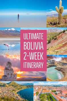 Take all the stress out of planning your trip to Bolivia!