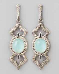 Armenta New World Elongated Diamond & _ Earrings on shopstyle.com