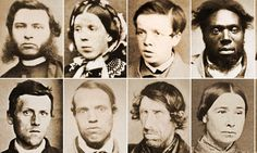 Faces of the Victorian underworld: They're the first criminal mugshots, taken 150 years ago - in the days when punishment was swift and brutal