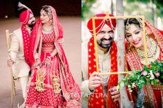 Best Wedding Photographer in Delhi : Sikh Wedding Photography- Arundeep + Prateek