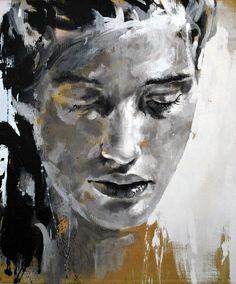 Kai Fine Art is an art website, shows painting and illustration works all over the world. Art And Illustration, Painting People, Figure Painting, Modern Art, Contemporary Art, Art Visage, Art Abstrait, Fine Art, Portrait Art