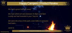 FAMILY KIT | CampKings Customer Review http://campkings.com.au/happy-camper/
