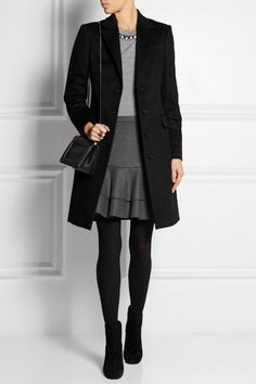 Burberry London | Wool and cashmere-blend coat | NET-A-PORTER.COM