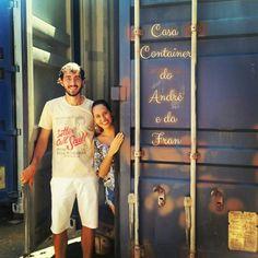 Casa Container do André e da Fran! Está sendo feita aqui em Campinas-SP e irá para Cardeal, Indaiatuba -SP