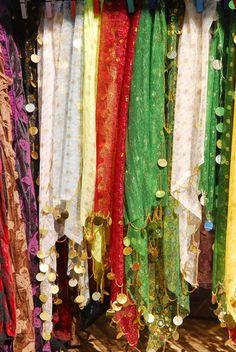 Arabic costumes, Sidon (Saida), southern Lebanon