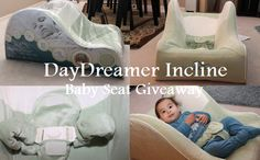 Enter to #win a Dex DayDreamer infant incline seat - available in powder blue, carnation pink, and sage green. Day Dreamer's ventilated core and moisture-wicking fabrics help keep your baby cooler by preventing unwanted heat build-up and the removeable cover is machine washable! #Giveaway ends 02/10.