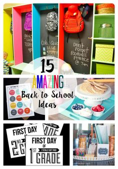 15 Amazing Back to School Ideas