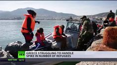 Europas Flüchtlingskrise: Weiterhin keine Entspannung in Griechenland