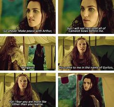 BBC Merlin | it's very true. Uther and Morgana both let their hate and ignorance lead them to their demise.