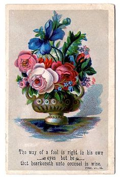 Vintage Clip Art - Antique Urn with Flowers - The Graphics Fairy