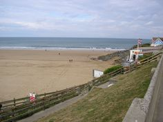 Woolacombe is a seaside resort on the coast of North Devon, England.