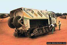camion astra n°631 dakar 85 - Dakardantan