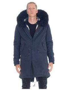 MR & MRS ITALY Mr & Mrs Italy Parka Con Collo In Pelliccia. #mrmrsitaly #cloth #coats-jackets
