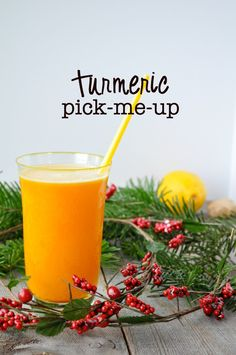 Turmeric Pick-Me-Up |www.flavourandsavour.com #antii-inflammatory
